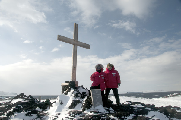 Cross at Cape Evans
